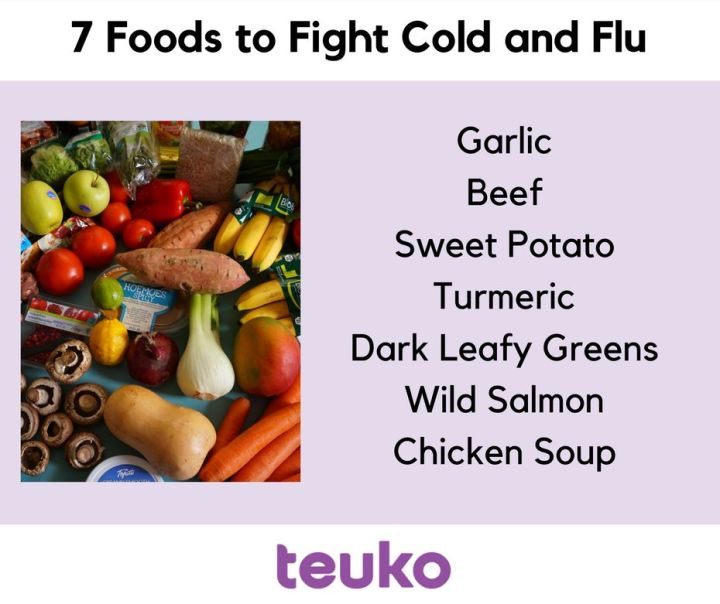 2018 7 foods to fight the flu