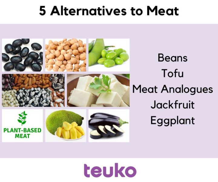 5 Alternatives to Meat