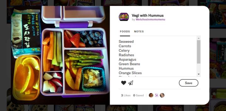 Melissa - lunchbox Asperge