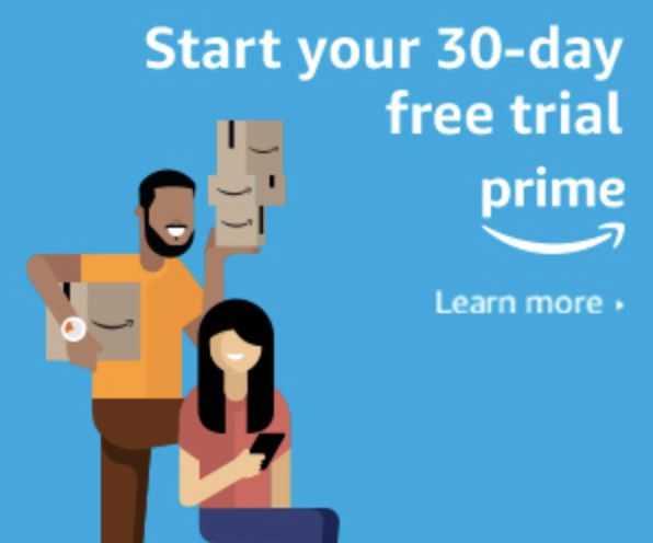 Start your 3-day free Amazon Prime trial