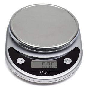 Digital scale for baking