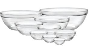 Duralex cooking bowls