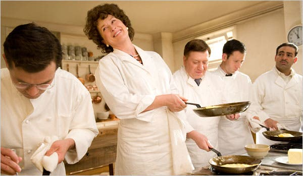 "Meryl Street as Julia Child in ""Julie and Julia"" movie"