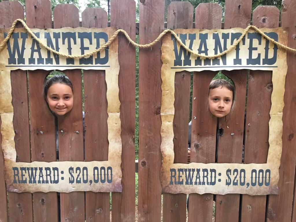 """Teuko Kids as the Wanted """"Teuko Gang Desperados"""""""