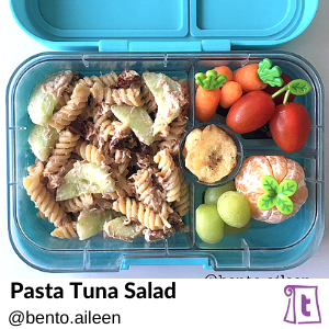 Pasta Tuna Salad by Bento Aileen, , found on Teuko.com, the online community for lunchbox packers