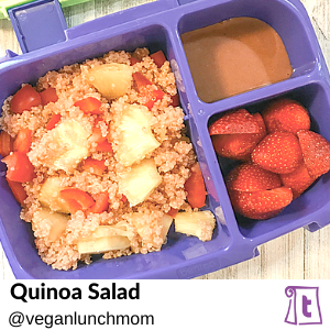 Quinoa salad by veganlunchmom, , found on Teuko.com, the online community for lunchbox packers