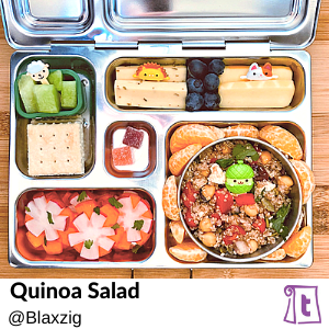 Quinoa salad by Blaxzig , found on Teuko.com, the online community for lunchbox packers