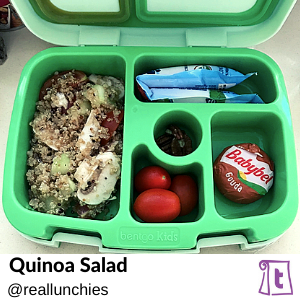 Quinoa salad by reallunchies, found on Teuko.com, the online community for lunchbox packers