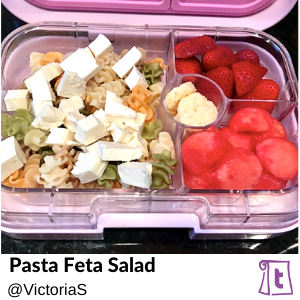 Pasta Feta Salad by Victoria, , found on Teuko.com, the online community for lunchbox packers