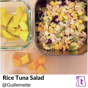 Rice Tuna Salad by Guillemette, , found on Teuko.com, the online community for lunchbox packers