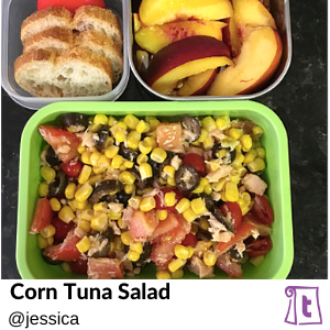 Corn Tuna Salad by Jessica , found on Teuko.com, the online community for lunchbox packers