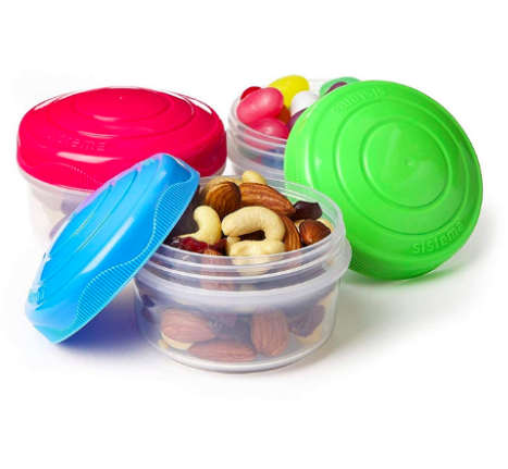 Great mini boxes, for lunch or for snacks. Kids Love them!