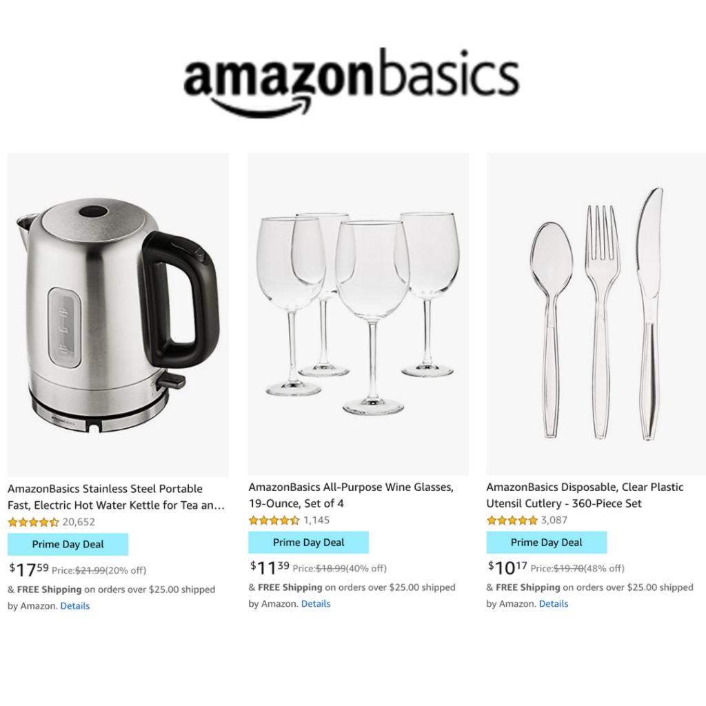 Amazon prime day deals. Teuko lunchbox community. Kitchen essential basics.