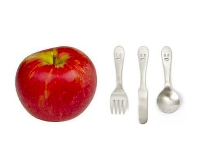 Happy Face Petit Cutlery Set