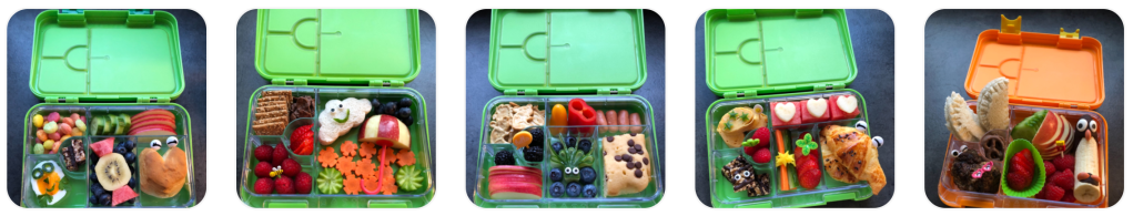5 lunchbox ideas for kids shared by Sabine on Teuko.com