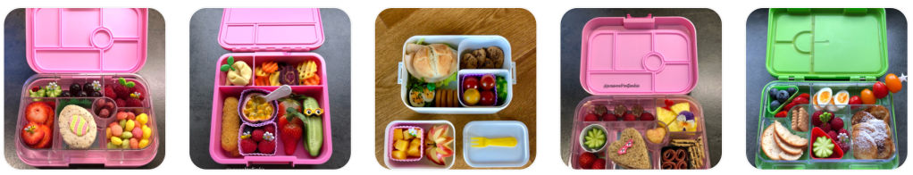 Colorful and appetizing kids lunchbox ideas shared by Sabine on Teuko.com