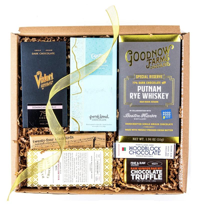 Teuko.com the lunchbox community - Dark chocolate box banner mouth.com