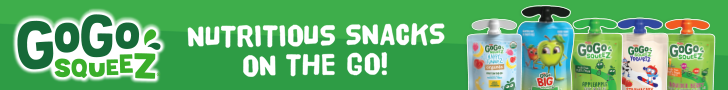 Nutritious Snacks On The Go by Gogo Squeez!