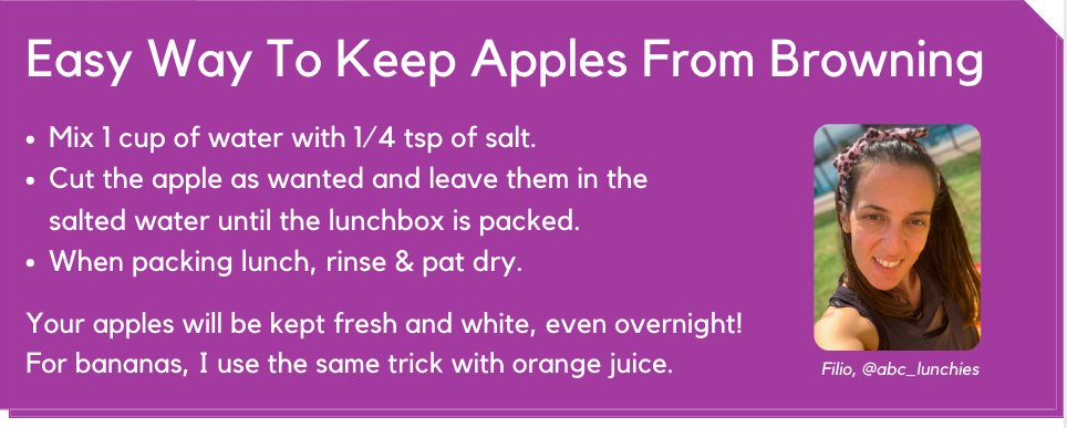 Easy Way To Keep Apples From Browning
