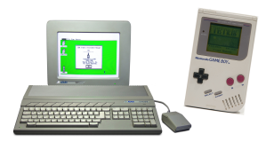 Atari 1040ST and Nintendo Game Boy