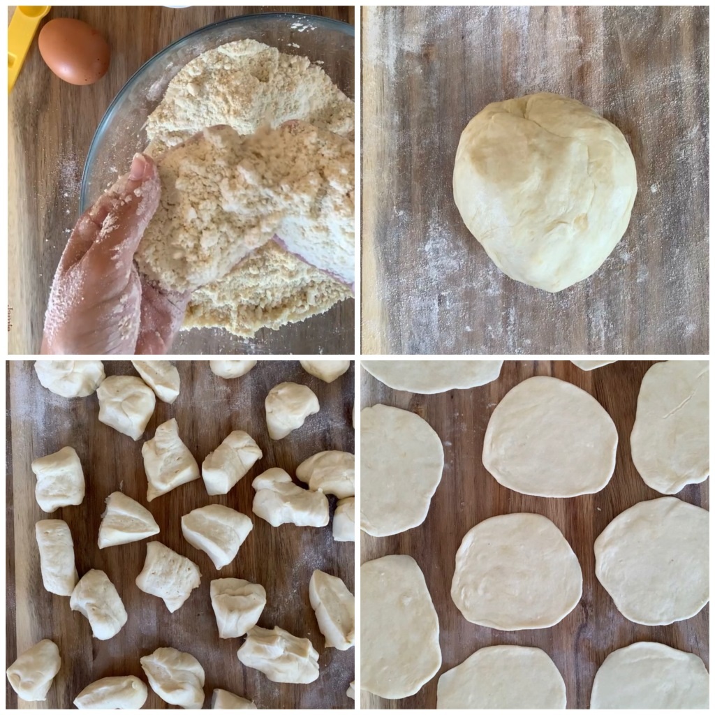 Hidden Burger Buns by Filio _ Directions for the preparation of the dough.