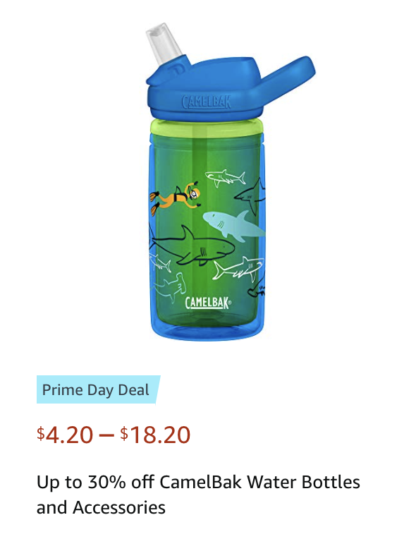 Camelbak water bottles deals Amazon Prime Day deals 2021