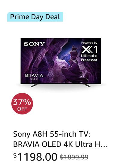 Sony TV Amazon Prime Day Deals