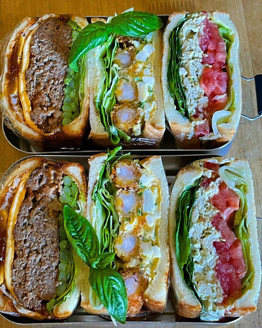 Sandwich Recipe by @farm_ohshita