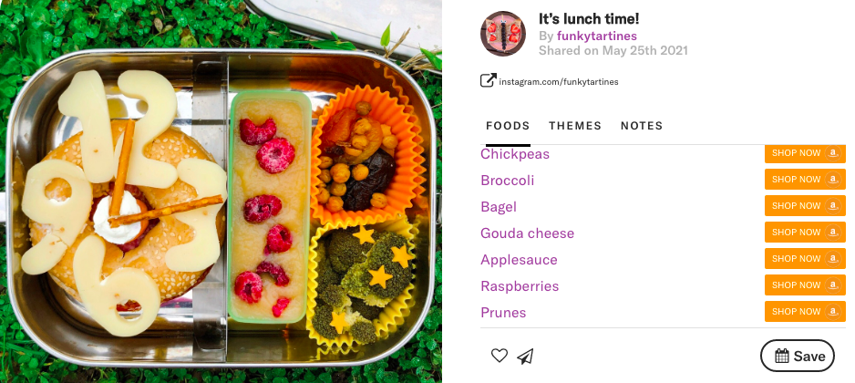 Fun Shapes make a statement in that lunchbox by @funkytartines on Teuko.com.