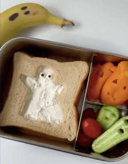 The Haunted Sandwich video tutorial, by foodplattermum